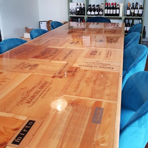 Glas Epoxy thema tafel